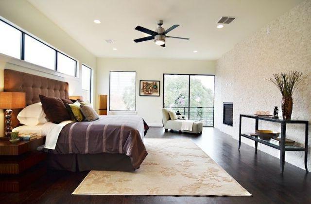 Ventiladores de techo para dormitorios.
