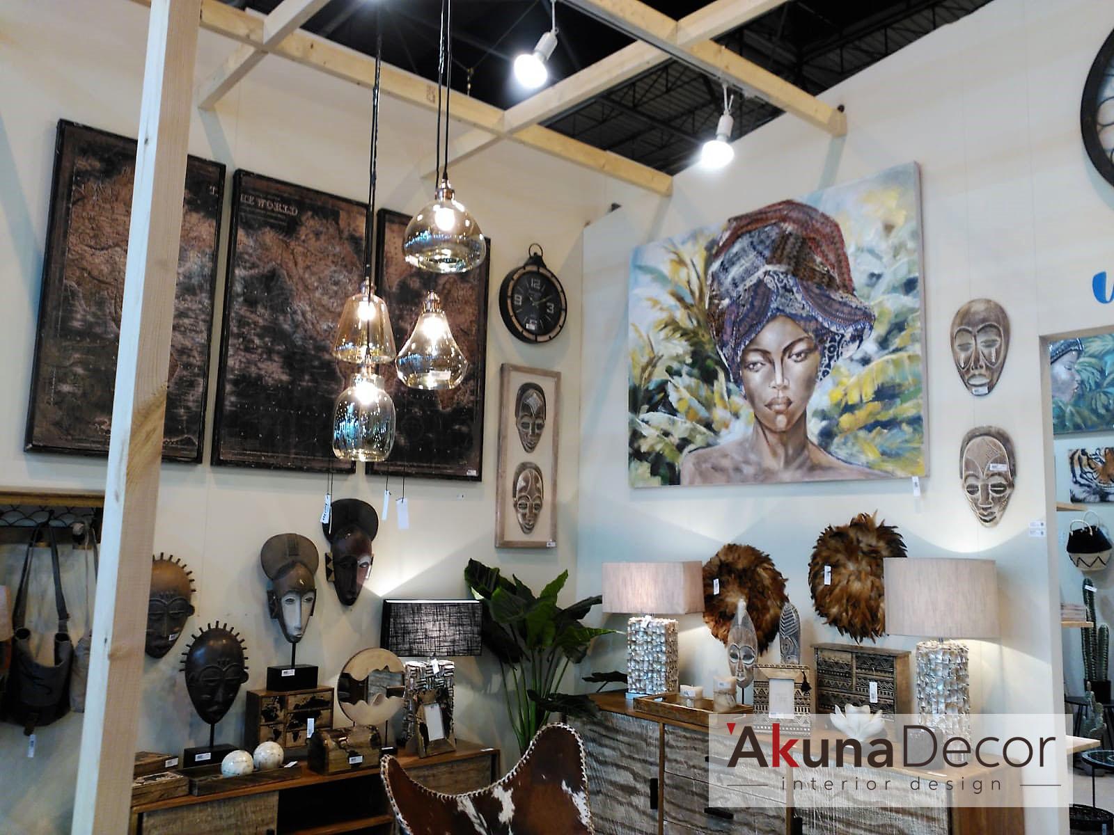 Decoración Akuna Tendencia Africana