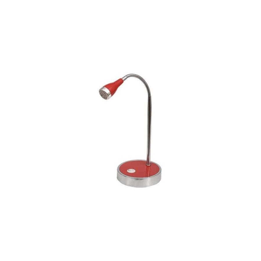 Flexo Serie Galena Rojo 12 Ledx0.06w