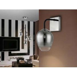 Iluminacion de pared, aplique SPHERE cromo