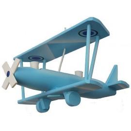 Avión Biplano Grande