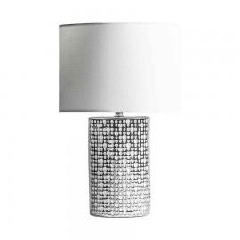 Lampara 5 luces modelo Honduras con pantalla blanca
