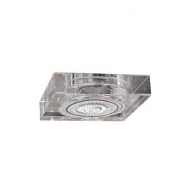Lampara cromo 3 L. mosaico HG