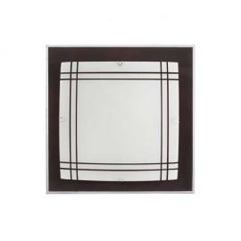 Plafon Amet Wengue 2xe27 (32x32x6)