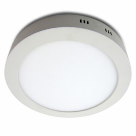 Downlight Sup. Red. 18w 4000k Carlomagno Led Blanco 1425lm 2,8x21,2d