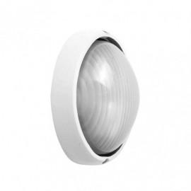 Aplique Ext. Aluminio Vega Peq.1xe27 Blanco  10x22x14 Cm Ip44
