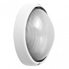 Aplique Ext. Aluminio Vega Grande 1xe27 Blanco  11x32x20,5 Cm Ip44