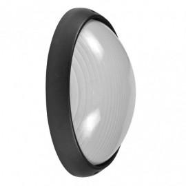 Aplique Ext. Aluminio Vega Grande 1xe27 Negro  11x32x20,5 Cm Ip44
