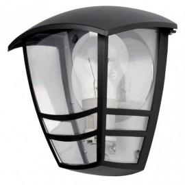 Aplique Exterior Aluminio Alnilan 1xe27 Negro Ip44 20x17,5x13 Cm