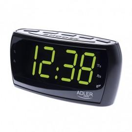 Radio Reloj Am/fm Pantalla Led 160x52mm Temporiz.cifra 4,8cm Alto Memoria Emisoras Alarma