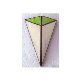 Aplique Piramide Pistacho 1xe27 28x20