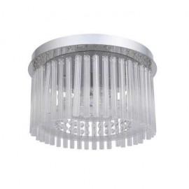 Plafon Insbrusque Cromo/cristal Led Smd 18w 1520lm 4000k 21x37d