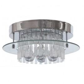 Plafon Tallinn Cromo/cristal Led Smd 21w 1780lm 4000k 19x50d