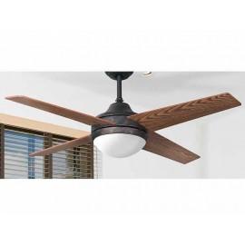 Promocion ventilador de techo 112cm. Eolo RUSTICO LED y control remoto.