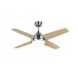 Promocion ventilador de techo 112cm. Eolo NIQUEL led y control remoto.