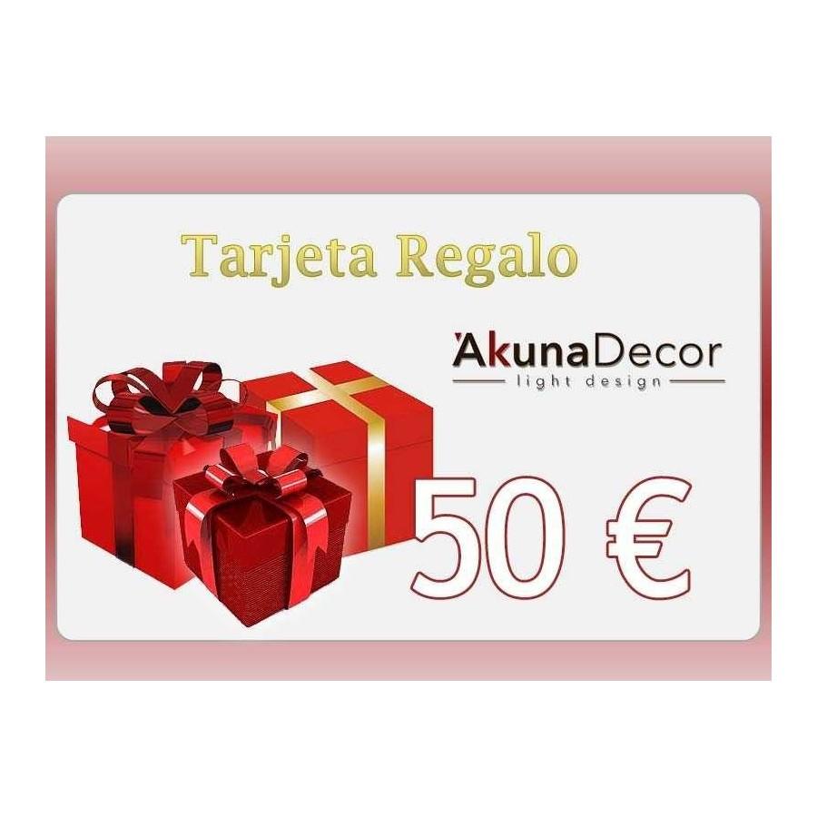 TARJETA REGALO 50€.