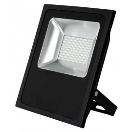 Proyector 100w 6500k Con Sensor Led Smd Quiron 35 12m Alcance 8000lm 120º (33,5x29x6)