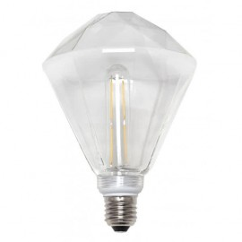 Lampara de techo Eva 8 luces cromo