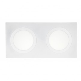 Novedades Mantra modelo PAPUA LED, lampara cromo-plata