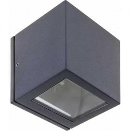 Aplique Exterior Cavalum Gris Oscuro 1xg9 Ip54 10x9x9