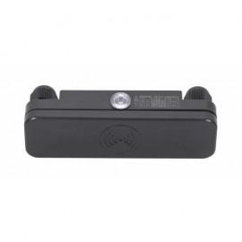 Lampara ventilador 111cm con luz modelo VERA blanco. Incluye mando a distancia y luz de LED 15W.