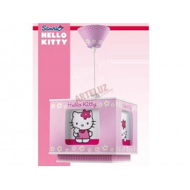 Lampara infantil original Coleccion Hello Kitty.