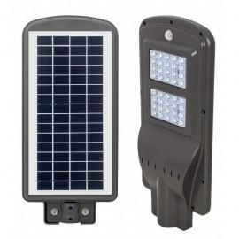 Farola Solar 20w 6500k Gaya Gris 50x22,5x6,5