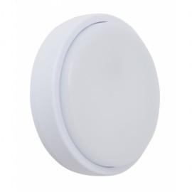 Aplique 20w Surf Exterior Redondo Ip65  Blanco 5,4x21 6400k 1440lm