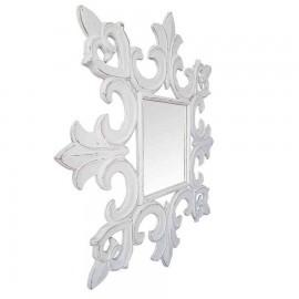 Espejo cuadrado modelo BOTERO BLANCO