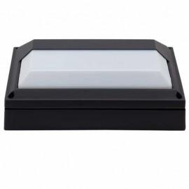 Aplique Exterior Rafiki Negro 1xe27 Ip44 27,5x18,5x8,5