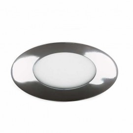 Downlight 5w 6500k Apolo 450lm Cromo 9d