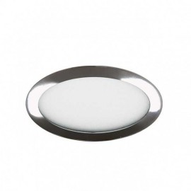 Downlight 12w 6500k Apolo 990lm Cromo 17d