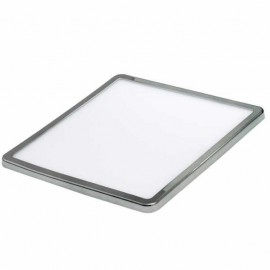 Colgante pan de plata, led