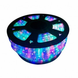 Tubo Led Flexible 50m,18w 300leds,rgb