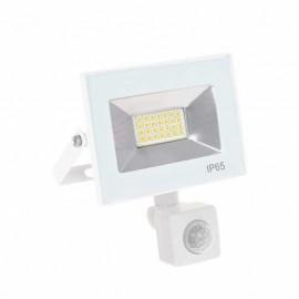 Proyector Kolyma 20w Led C/sensor 6500k Blanco