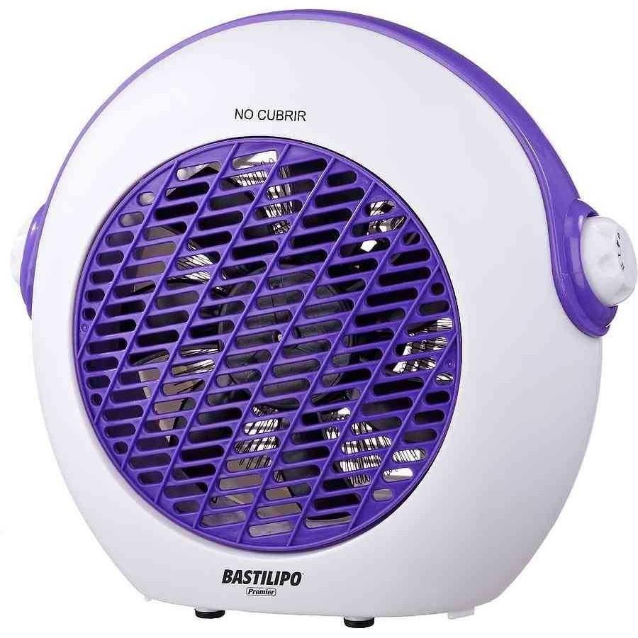 Calefaccion para dormitorios juveniles, blanco-violeta, Bastilipo