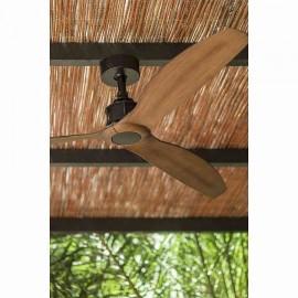 Ventilador de techo blanco 132cm sin luz TUPAI motor DC. Mando a distancia incluido.