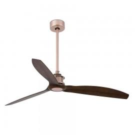 Ventilador cobre modelo Just Fan con motor DC sin luz de Faro