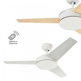 Ventilador modelo WINDY blanco sin luz