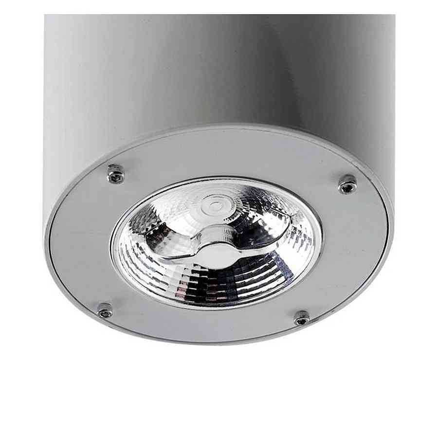 KIT DE LUZ para ventilador de techo modelo FORMENTERA acabado GRIS
