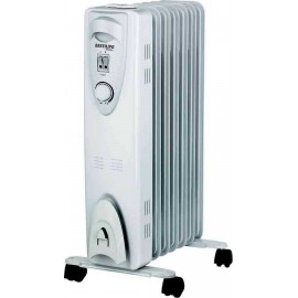 Calefaccion para dormitorios, Radiador Bastilipo 7 ele.