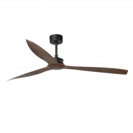 Ventilador DC Extragrande Faro JUST FAN XL 1780mm NEGRO PALAS MADERA