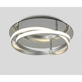 Plafon  SERIE INFINITY ACABADO Silver-Chrome