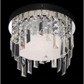 Lámpara Ipanema 4 luces Berenjena