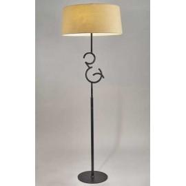 Lámpara Sobremesa Ipanema 1 luz Beis 40x14
