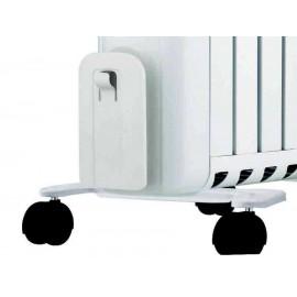 Radiador 2500W Bastilipo con ruedas