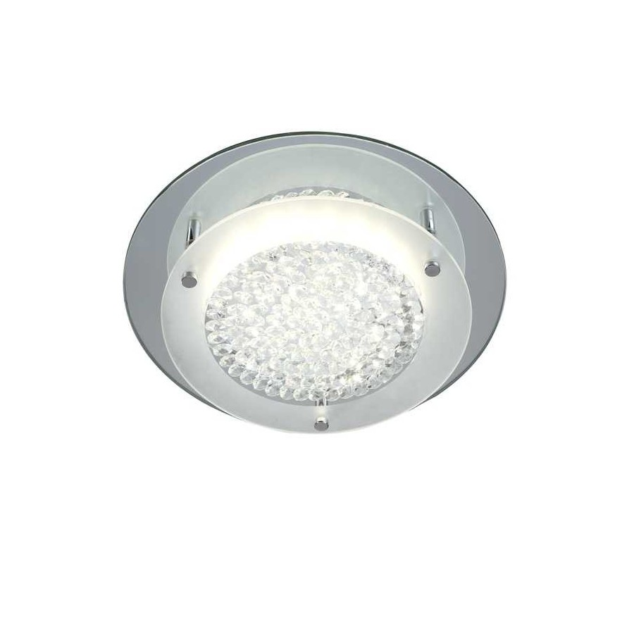 Plafon Led SERIE CRYSTAL LED MIRROR ACABADO Chrome