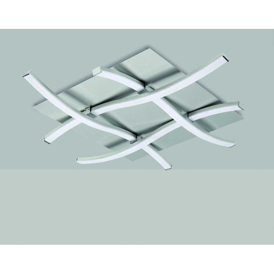 Plafon SERIE NUR ACABADO Silver-Chrome