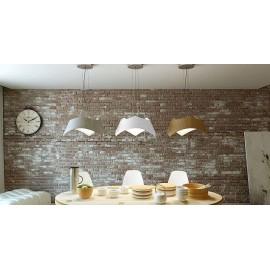 Lámpara Sobremesa Serie Odisea Negro/cromo 1luz 36x22