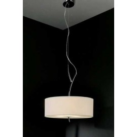 Lámpara Colgante Bebe Rosa 1luz  Regx30D